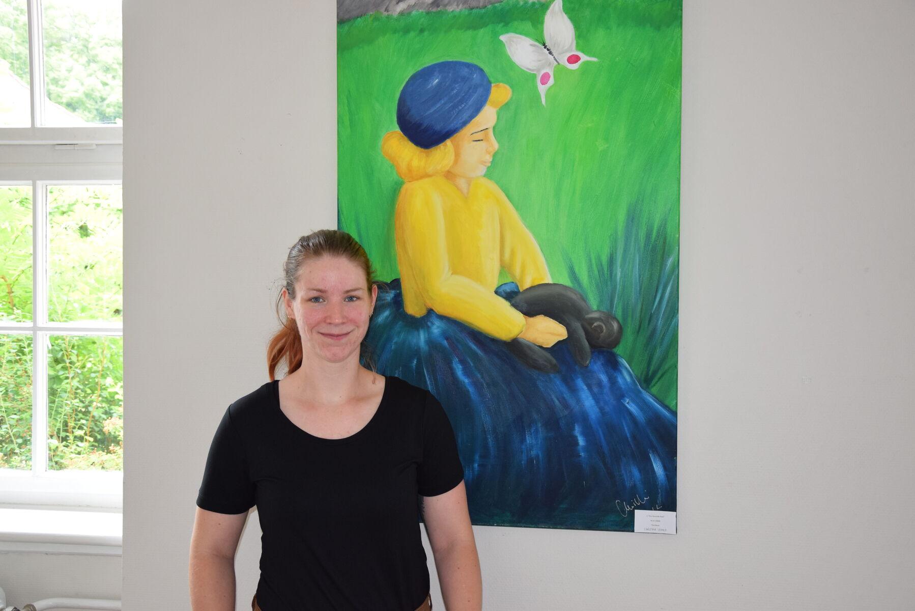 Frau Lemke Ausstellung